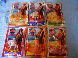MSDM, Trockenfisch, Fischchips, komplett