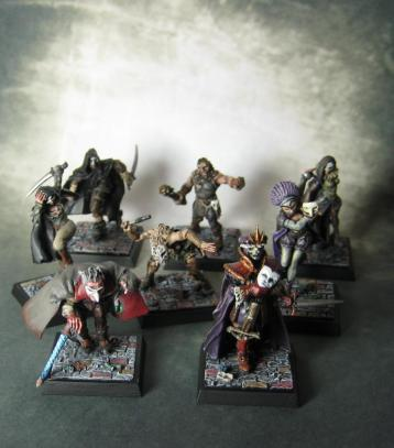 Freebooters Fate, bemalt, Miniatur, Tabletop