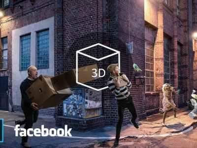 كيف تجعل صورة فيسبوك ثلاثية الأبعاد