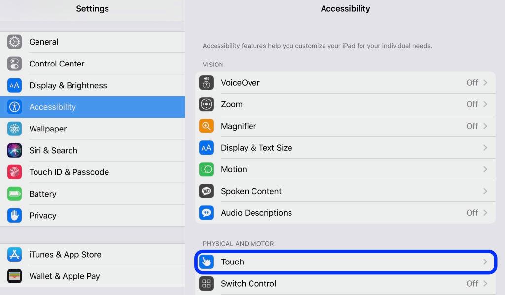 كيف تستخدم ماوس مع آيباد في iOS 13 1