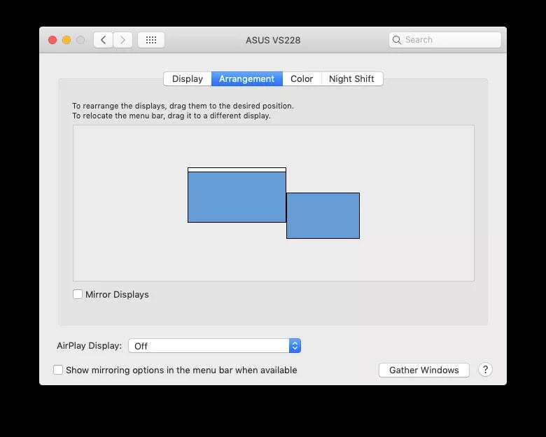 شرح استخدام شاشة خارجية مع الماك 4