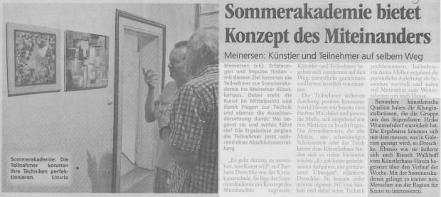 Aller-Zeitung 31.07.2012