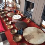 klankschalen drums open haard gong koshi