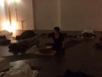 Yoga zaal studio Norbruis klankschaal klankreizigers