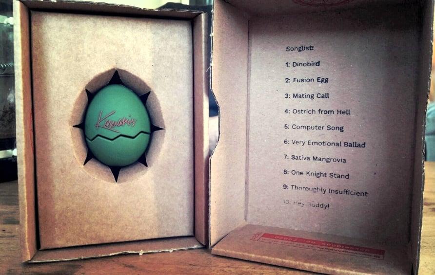 Het nieuwe album Dinobird van Kasuaris