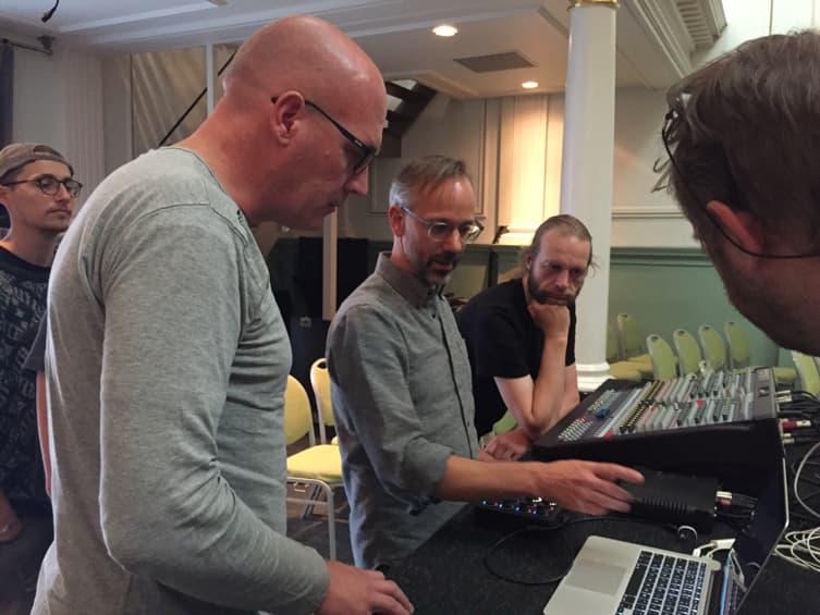 Marcel Wierckx houdt van de interessante onbetrouwbaarheid van analoge systemen