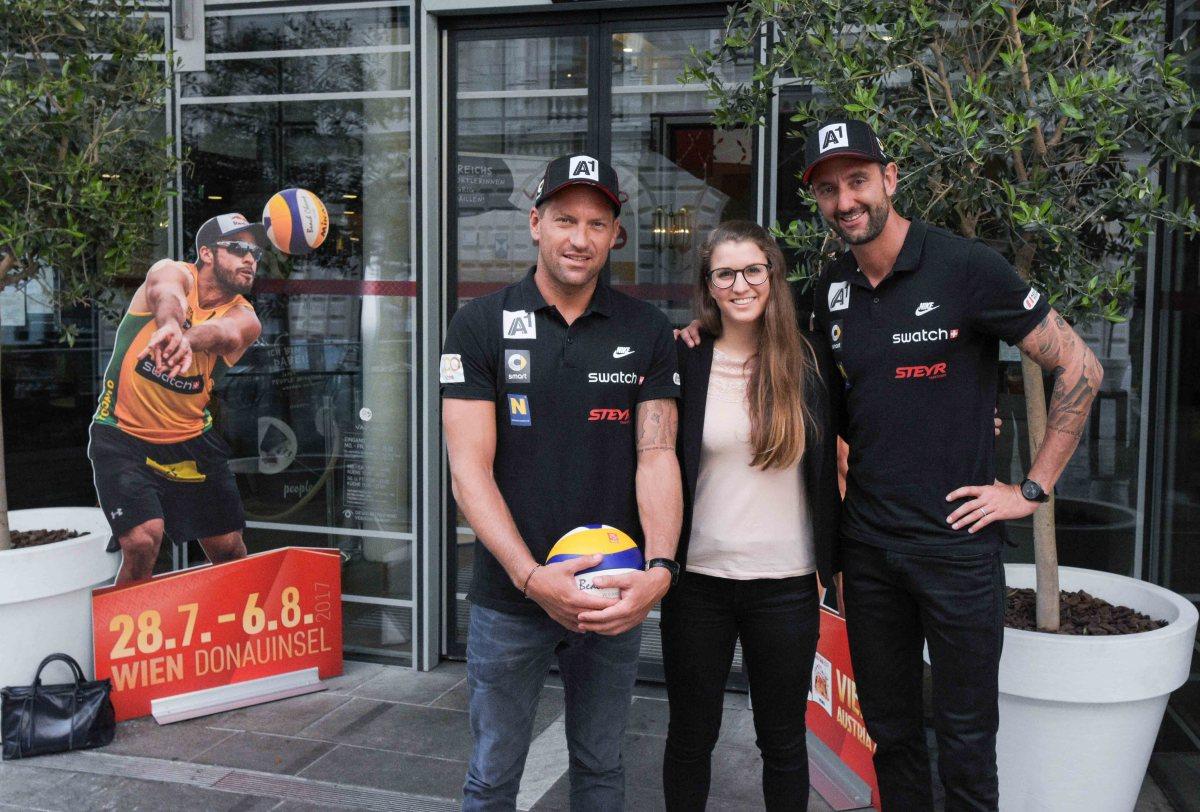 Volleyball Profispieler Clemens Doppler und Alexander Horst im Interview