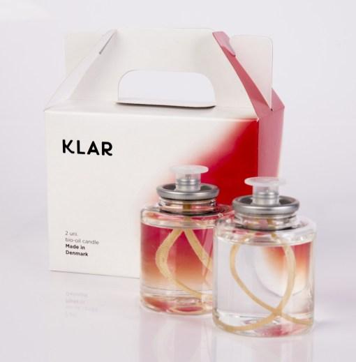 Vela Klar Bio-Oil 65g Citronela (2 unidades)