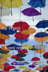 na regen komt regent