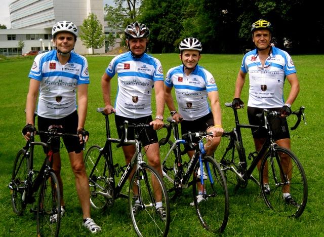 Lions-Club-Hohensalzburg-Team radelt 24-Stunden-Radmarathon für Waisenkinder in Afrika