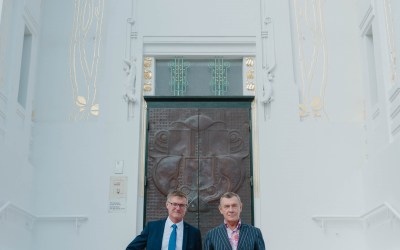 Wiener Secession: Villeroy & Boch gratuliert zum Sanierungs-Abschluss