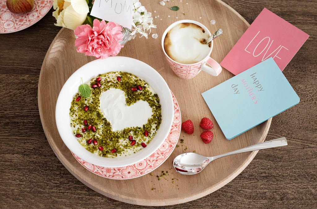 Zum Muttertag: ein schön gedeckter Tisch!