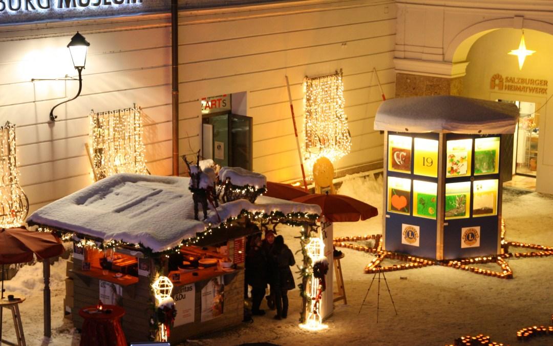 10 Jahre Adventkalender des Lions Club Hohensalzburg