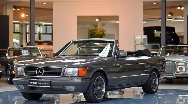 Mercedes-Benz Cabriolet 500SEC SGS Styling Garaj Harikası