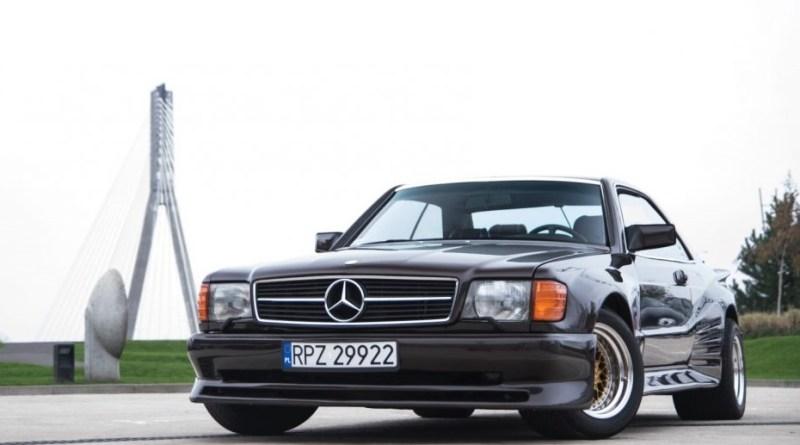 Sürüden ayrılanlar. Mercedes-Benz 560 SEC Koenig