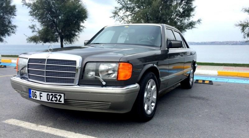 Mercedes-Benz W126 420SE Bir Başkadır Mercedes Sevdası.