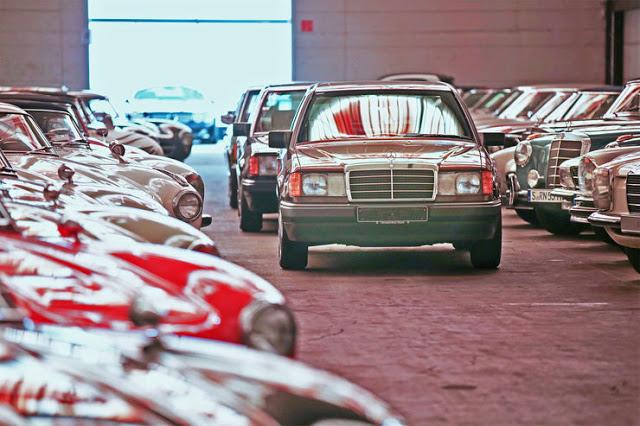Mercedes-Benz Müzesinin 840 Araçlık Gizli Hazinesi