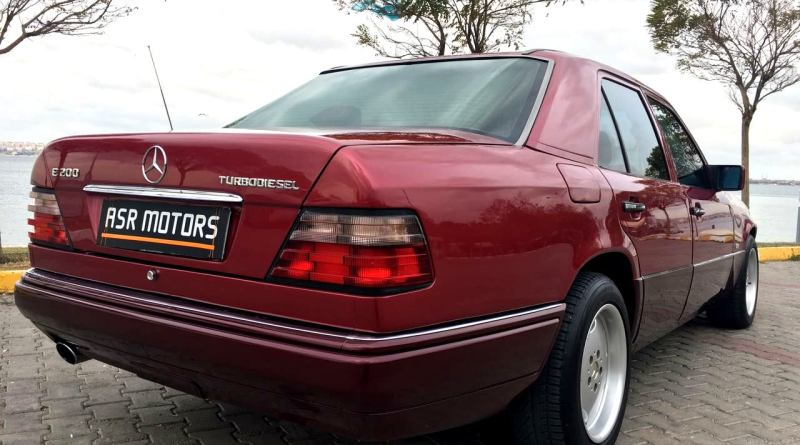 W124 Kasada E200 Turbodiesel!. Olur mu? Yaptık Oldu!..
