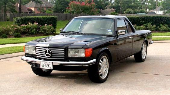 Amerika'dan W116 Mercedes-Benz 450 SEL  PickUp