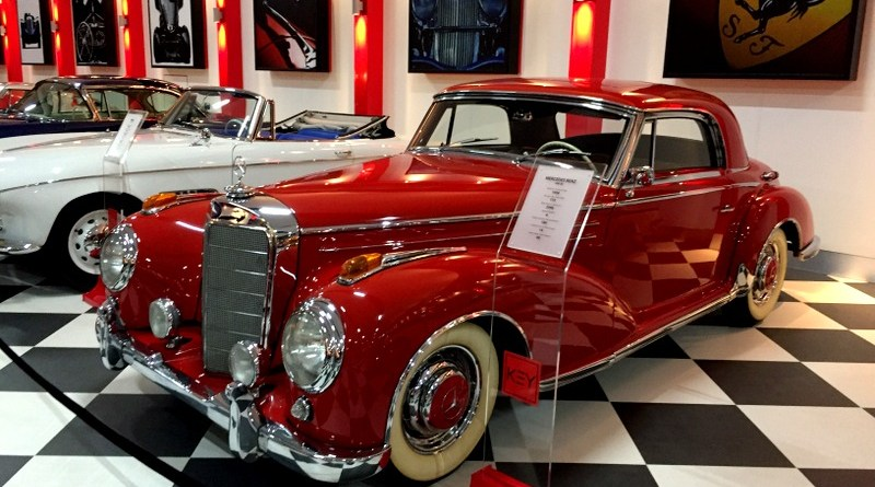 İzmir Key Museum'dan 1956 W188 II Mercedes-Benz 300SC Coupe