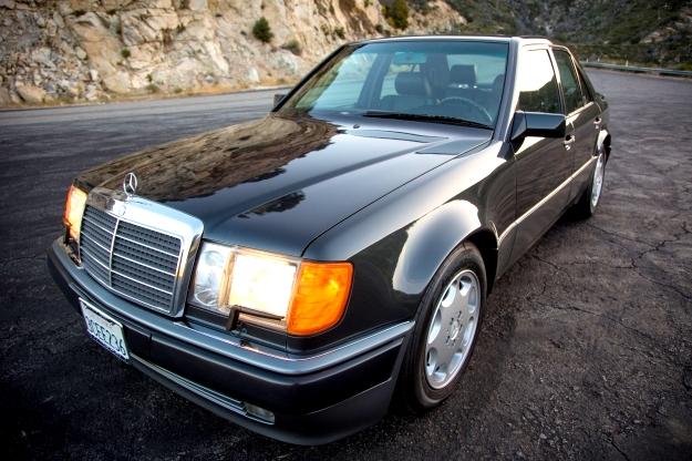 W124 Mercedes Benz 500E Amerikan Versiyon 17 Bin Mil'de!