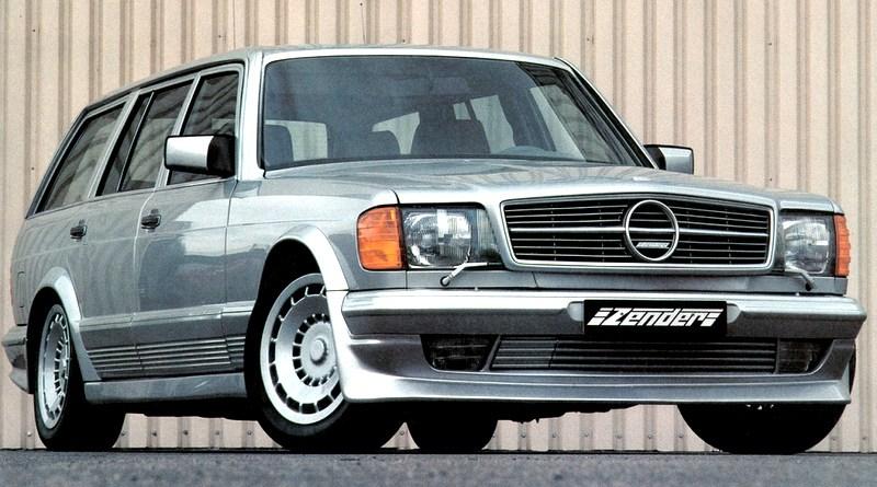Tuning Efsanesi 1983 Zender Mercedes-Benz 500SET W126 SW