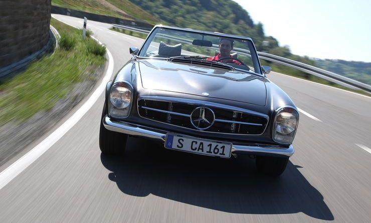 280 Hp. 4.3 V8 AMG Motorlu W113 Mercedes-Benz 280SL Pagoda