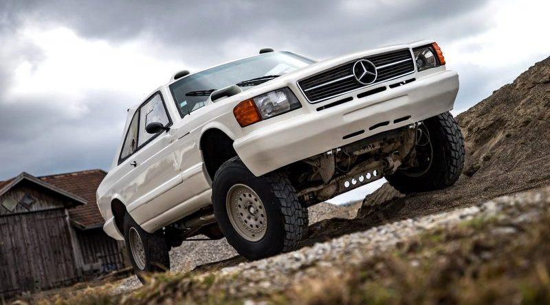 G-Serisi Tabanlı Mercedes-Benz 560SEC Dakar