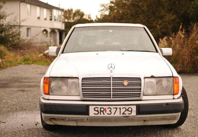 3.4 Milyon Km. Yol Kateden W124 Mercedes-Benz 300D