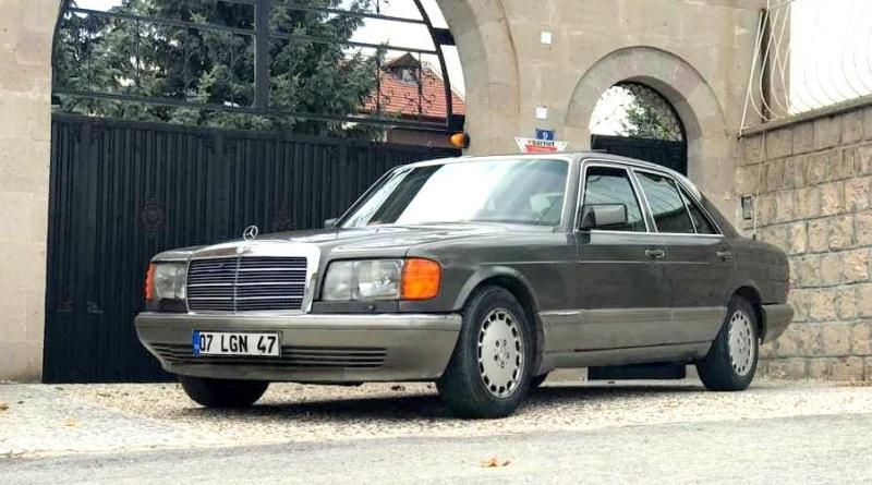 Satılık 1989 W126 Mercedes-Benz 300SE