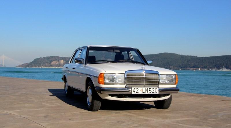 SATILDI Orijinal 57 Bin.de Boyasız 1984 W123 Mercedes-Benz 200D