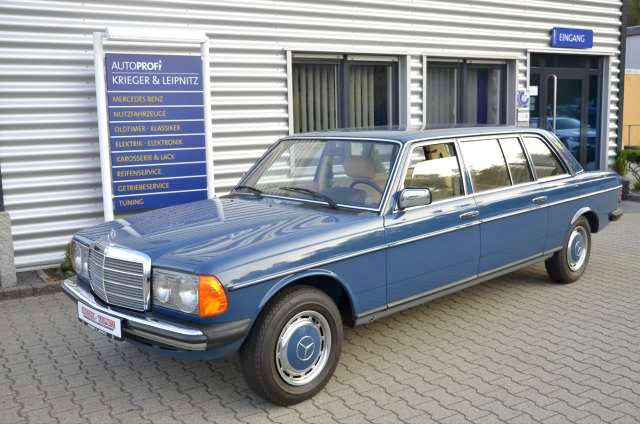 7 Bin Km.de! 1982 W123 Mercedes-Benz 300D Limuzin Satılık*