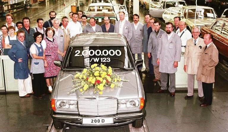 W123 Mercedes-Benz Boya Kodları ve Örnekleri