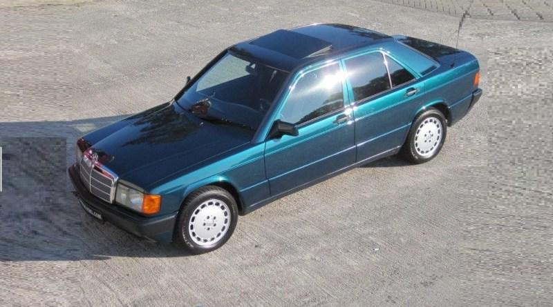 W201 Mercedes-Benz 190D 2.5 Avantgarde Verde
