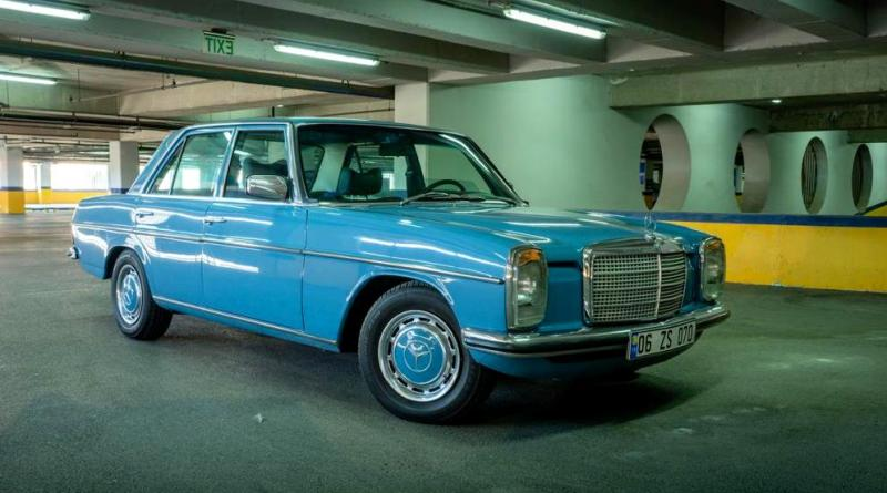 SATILIK W115 Mercedes-Benz 230.4 Full Restoreli