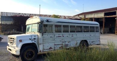 SATILIK Okul Otobüsü Amerikan GMC