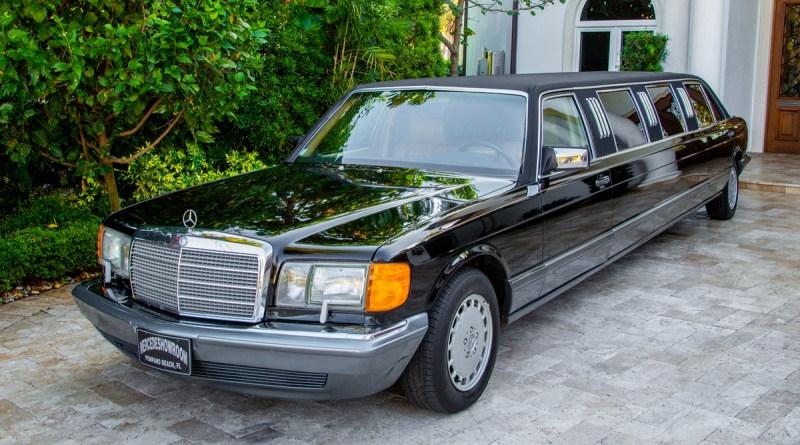 1991 V126 Mercedes-Benz Limuzin 560 SEL Amerikan Versiyon