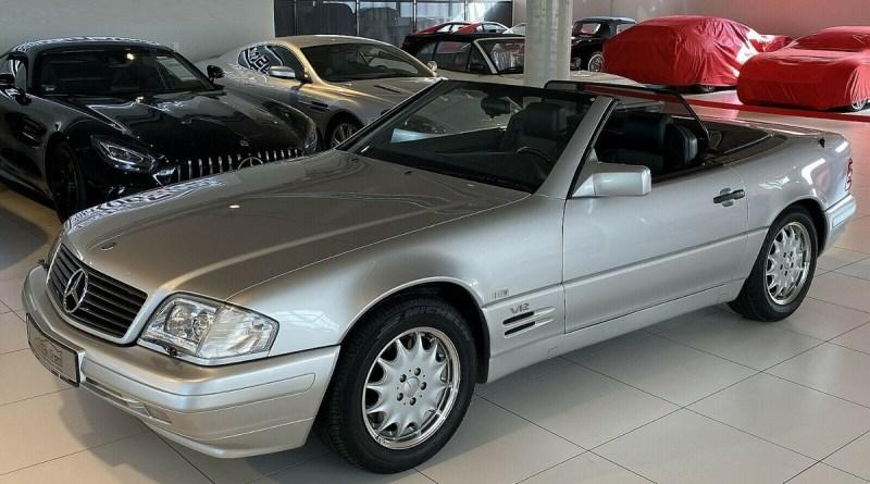 Boyasız 2 Bin Km. Mercedes-Benz R129 SL 600
