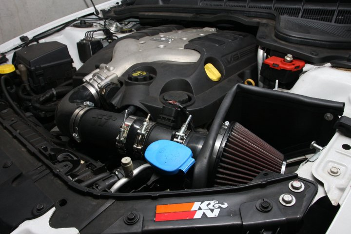 K&N Performance Air Intake System Holden Commodore VE SV6