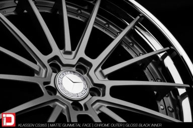 klassen klassenid wheels rims custom concave forged three piece 21inch 21in matte gunmetal chrome lip hardware mercedes benz s63 amg