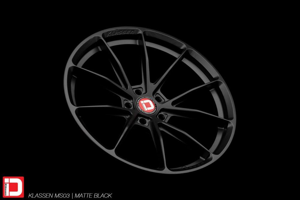 KlasseniD Wheels – MS03 Matte Black