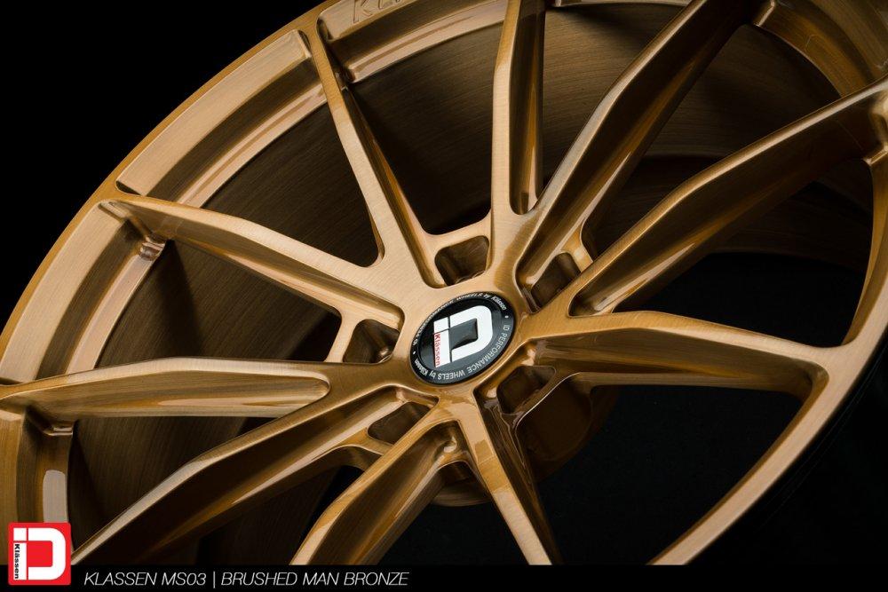 KlasseniD Wheels – MS03 Brushed Liquid Bronze