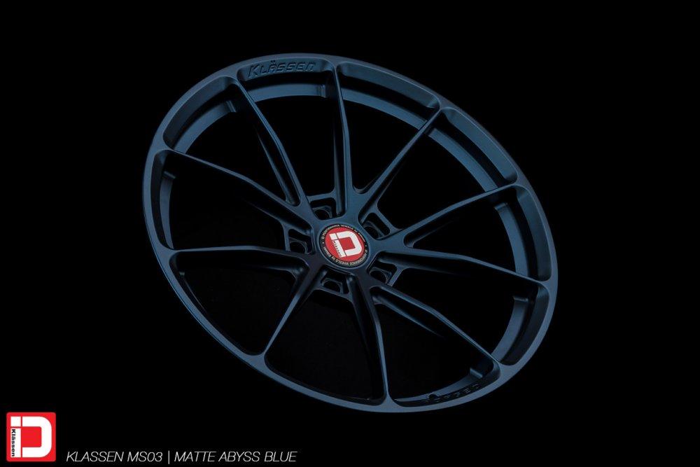 KlasseniD Wheels – MS03 Matte Abyss Blue