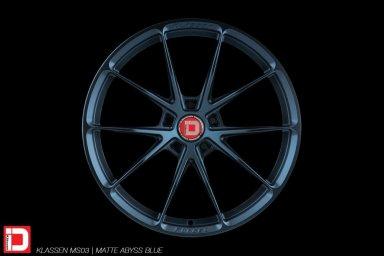 klassen klassenid wheels rims custom forged concave lightweight five spoke split matte midnight blue abyss track sport