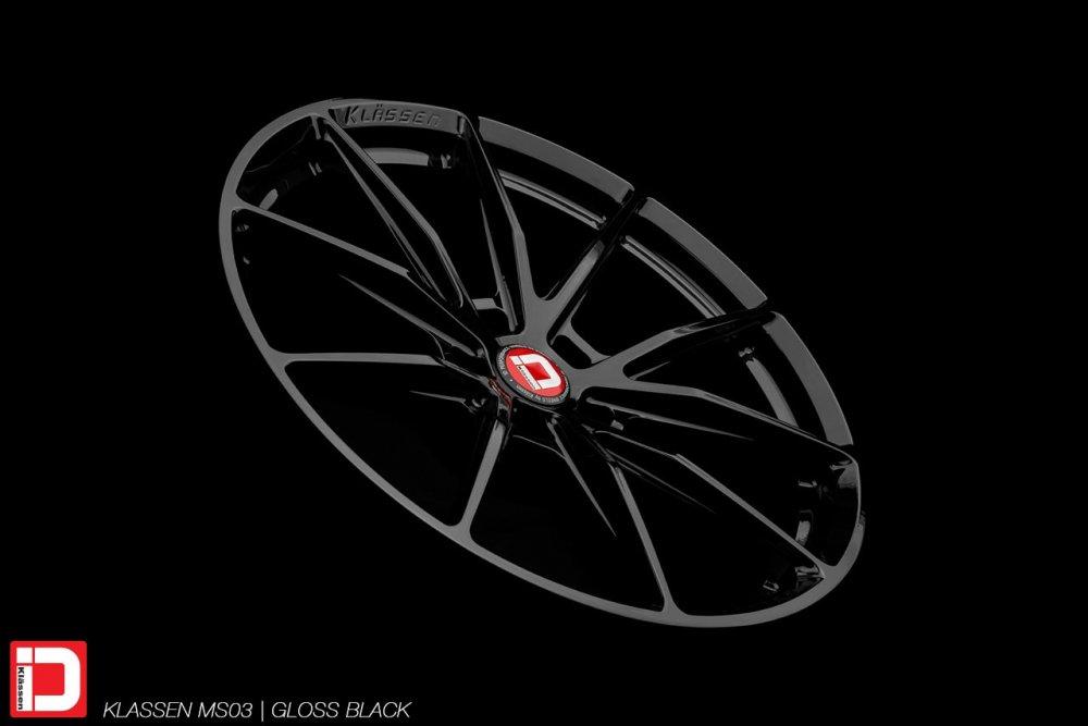 KlasseniD Wheels – MS03 Gloss Black