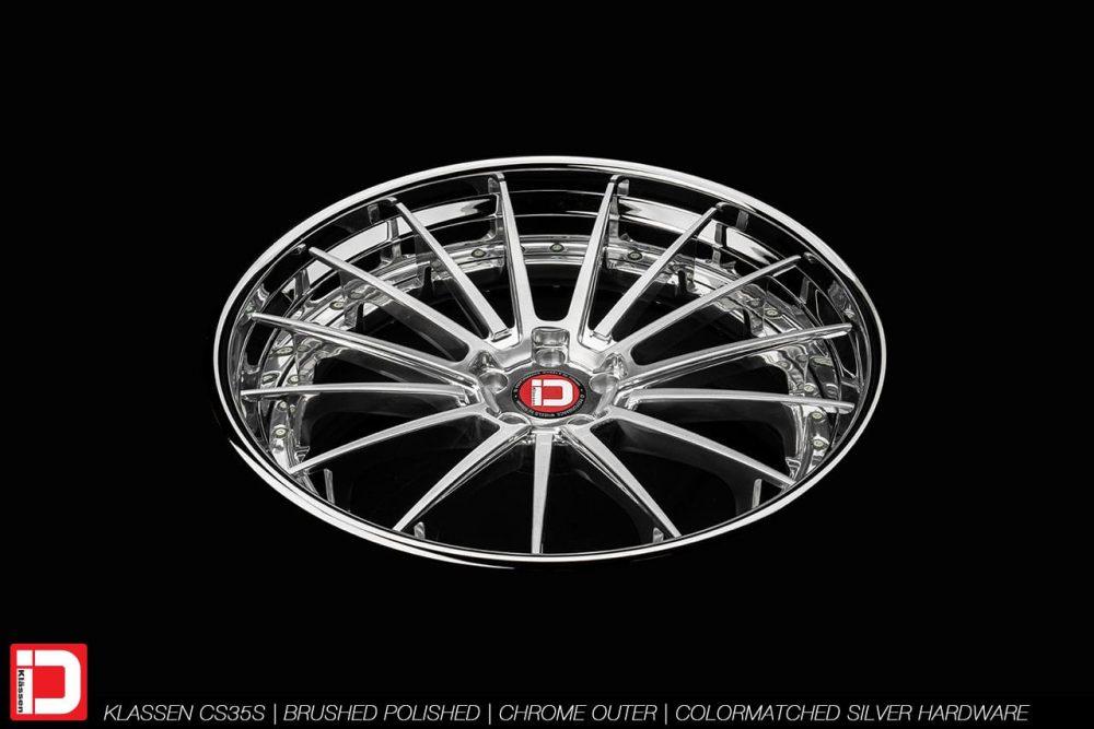 KlasseniD Wheels – CS35S Brushed Polished