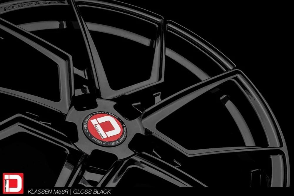 KlasseniD Wheels M56R Monoblock Forged – Gloss Black