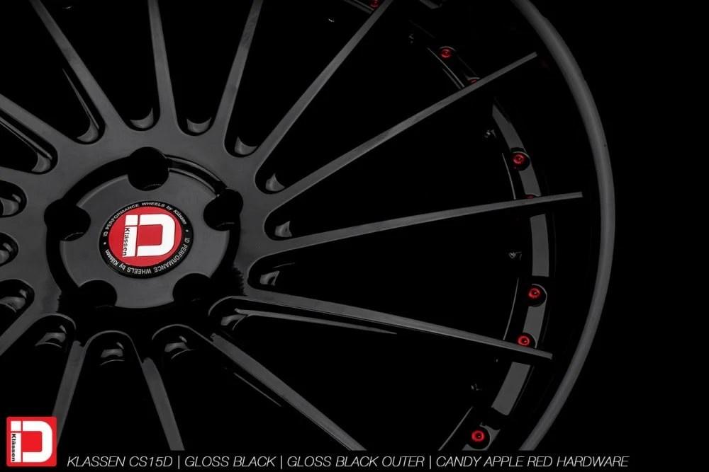 KlasseniD Wheels – CS15D Gloss Black