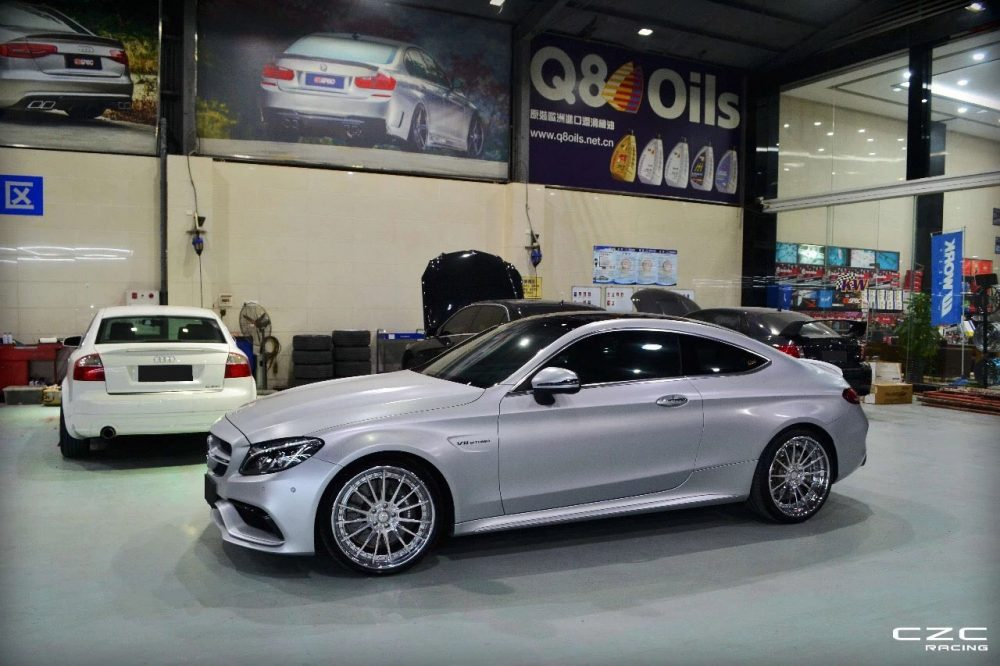 klassen klassenid wheels rims cs35s polished silver mercedes benz c63 amg coupe 20inch 20in custom concave forged three piece china shenzhen