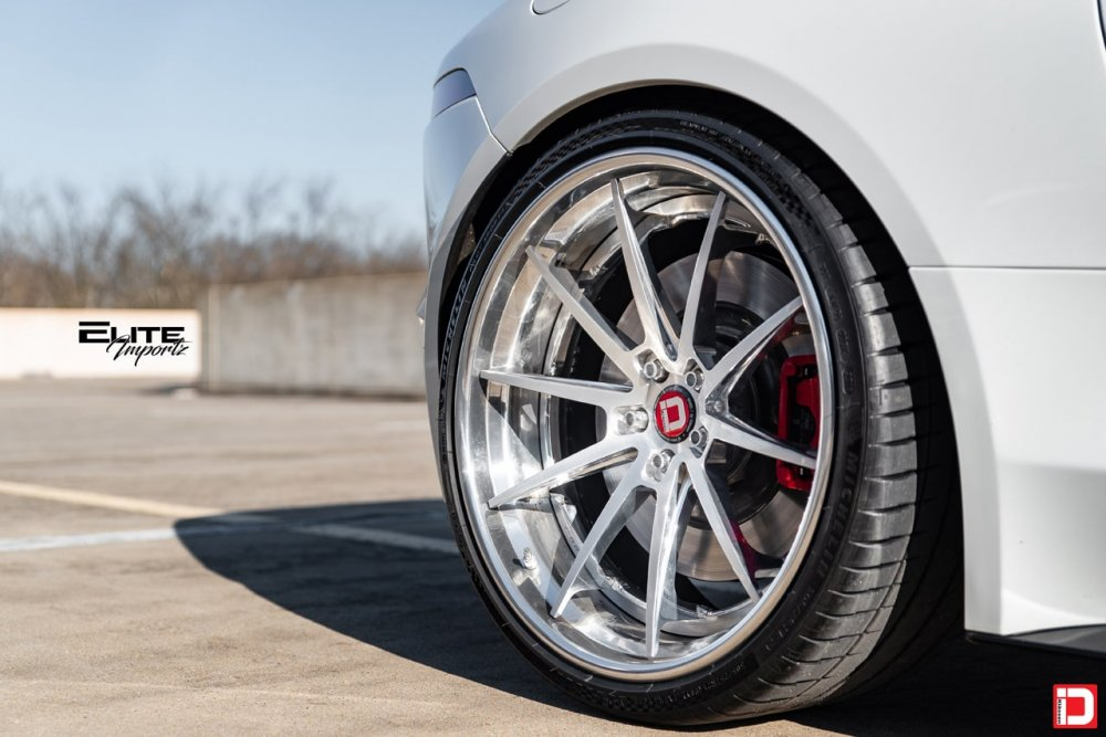 Jaguar F-Type   KlasseniD Wheels CS10R Brushed Polished